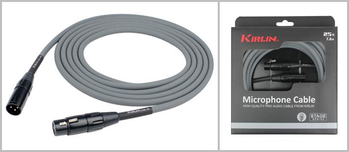 MPQ270G - 7.6 Metre Mikrofon Kablosu - Gri