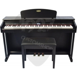 SCP88 - 88 Tuş Tabureli Dijital Piyano  (Siyah)