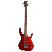 Burner Standard 4 Telli Bass Gitar - Metallic Red