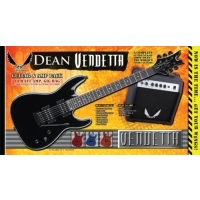 Vendetta XM Shredder Elektro Gitar Paketi - Dean Mean 10w Amfi