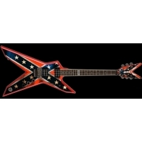 Dimebag Darrell - Dixie Rebel Elektro Gitar w/ Hard Case