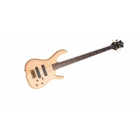 Burner Deluxe 4 Telli Bass Gitar - Natural