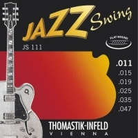 JS111 - 11/47 Jazz Swing (Light) Flatwound- Elektro Gitar Teli