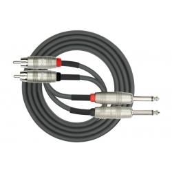 AP-403PR 3M Dual Patch Cable 2x 1/4
