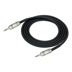 AP-468PRL Single Patch Cable  3.5MM TRS Plug - 3.5MM TRS Plug
