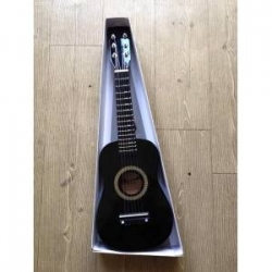 6 Telli Çocuk Gitarı - Siyah