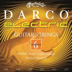 D9400 - Darco (Super light) 08-39 Elektro Gitar Teli
