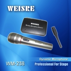 WM238 - Kablosuz El Mikrofonu