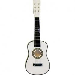 6 Telli Çocuk Gitarı - Beyaz