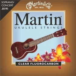 M600 - Clear Fluorocarbon Soprano/Concert Ukulele Teli