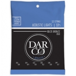 41Y18D500 - 12-String Lights Akustik Gitar Teli (0.10-0.47 / 0.10-0.27)