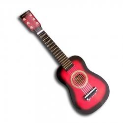 6 Telli Çocuk Gitarı - Kırmızı
