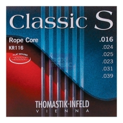 KR116 - Classic S Rope Core Flatwound 16/39 Light Tension - Klasik Gitar Teli