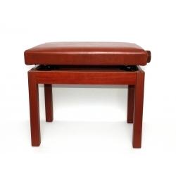 Ayarlı Piyano Taburesi (Kahverengi)
