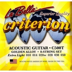Criterion 10-52 Light - Akustik Gitar teli