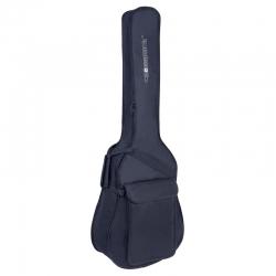 CRSG006DBR - 5mm Süngerli Akustik Gitar Gig-Bag (Kırmızı-Siyah)