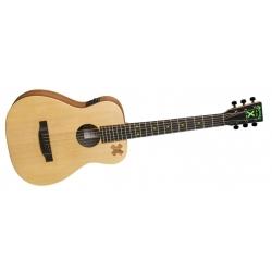 LXEDSHEERAN2 -  Ed Sheeran Travel Elektro Akustik Gitar ve Gigbag