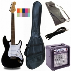RF20PACK - Strat Elektro Gitar Paket (Sunburst)