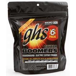 Boomers 5 Pack 09-42 - 5 Takım Elektro Gitar Teli