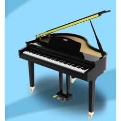 GP1000 - Çeyrek Kuyruklu Dijital Piyano