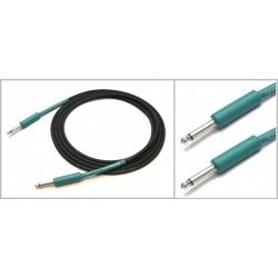 IPCH241 - 3 Metre Enstrüman Kablosu - Siyah/Yeşil