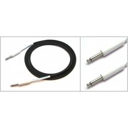 IPCH241 - 6 Metre Enstrüman Kablosu - Siyah/Beyaz