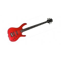 Burner Ignition 4 Telli Bass Gitar - Trans Cherry