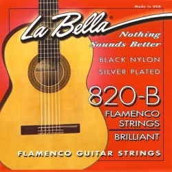 Elite Series Flamenco *Black Nylon* - Klasik Gitar teli