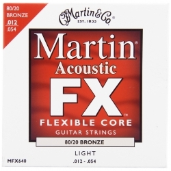 Flexible Core FX 12-54 - Akustik Gitar Teli
