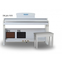 DK360WH - 88 Tuş Dijital Piyano (Beyaz)