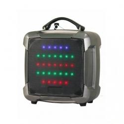 PAT8 - 8'' 100 Watt Taşınabilir Şarjlı Amplifikatör (Gümüş)