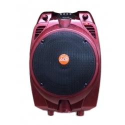 PAZ66AB - 30 Watt Taşınabilir Şarjlı Amplifikatör (Kırmızı)
