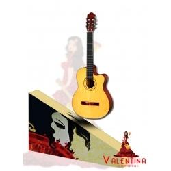 VA-6521CE - 39'' Elektro Cutaway Klasik Gitar