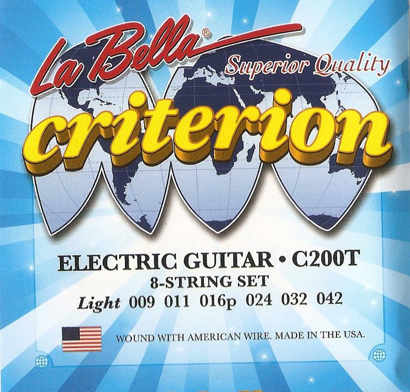 Criterion 09-42 Light - Elektro Gitar Teli