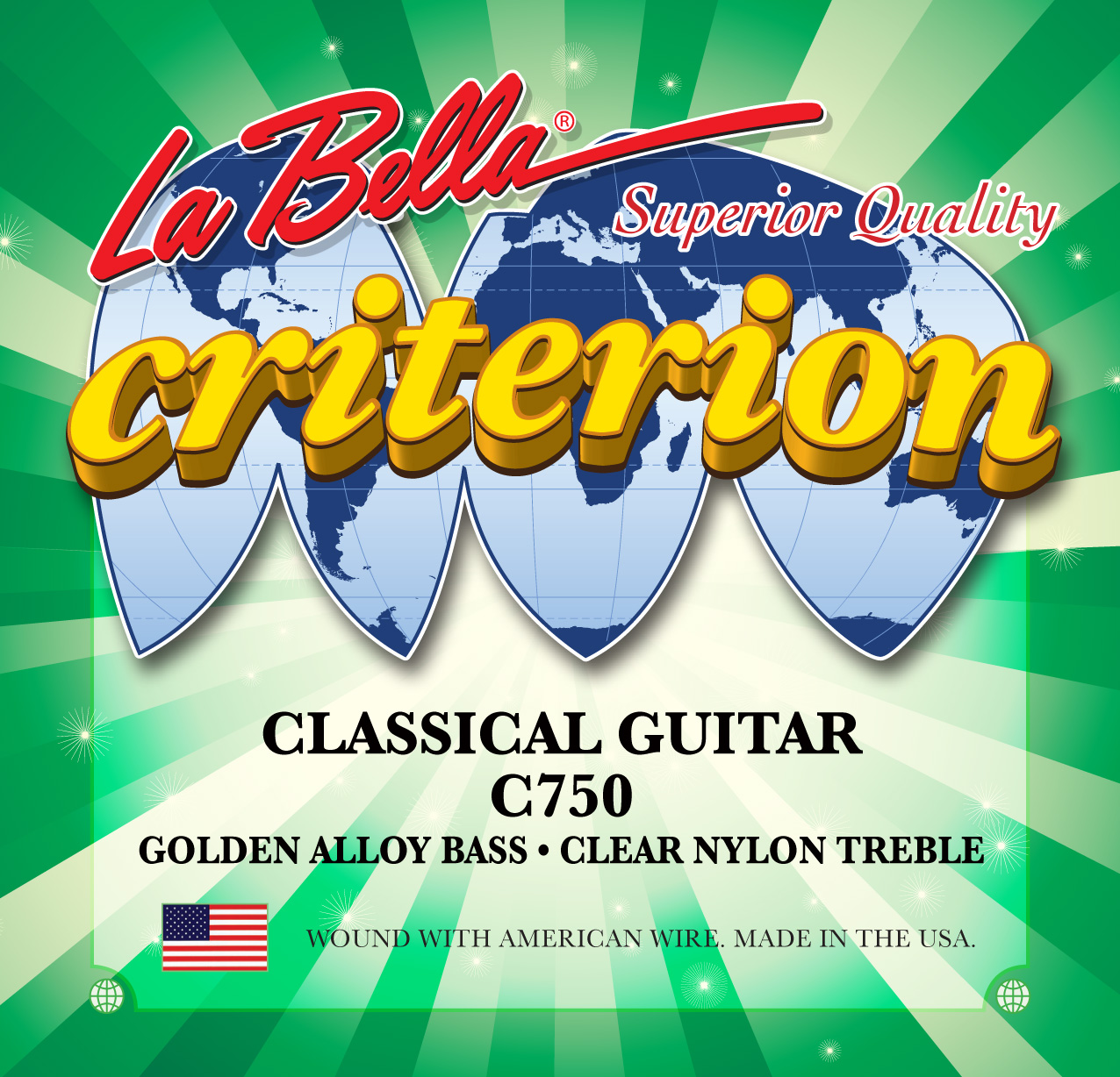 Criterion - Klasik gitar Teli