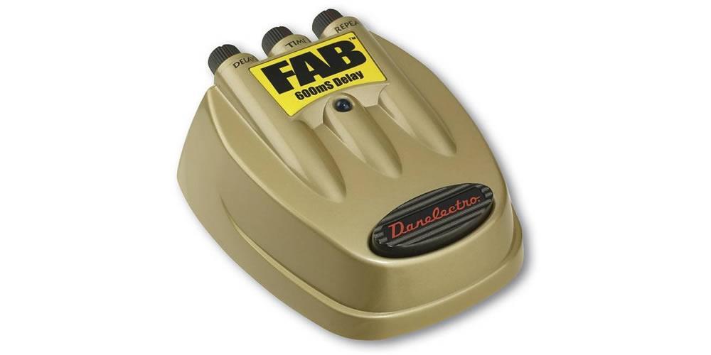 D8 FAB - 600ms Delay Pedal