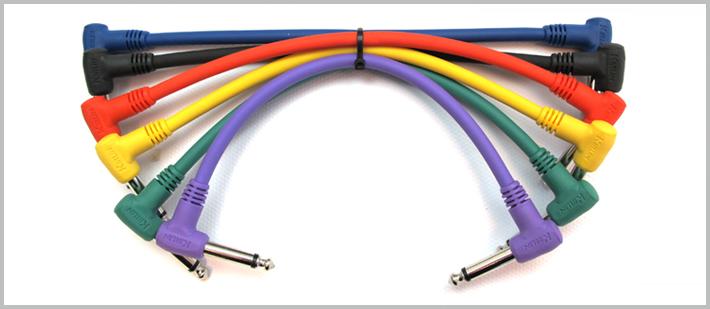 16-243 - 30cm 6 Adet Enstrüman/Pedal Kablosu