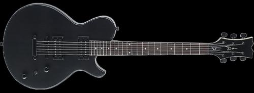 Evo XM Elektro Gitar - Trans Siyah Satin