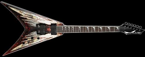 Dave Mustaine - Angel of Death Elektro Gitar