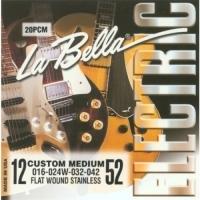 Flatwound Stainless 12-52 Custom Medium - Elektro Gitar Teli