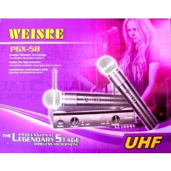 WMPGX58 - Kablosuz Mikrofon 2'li Set