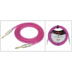 IM201PRG - 6 Metre Enstrüman Kablosu - Mor