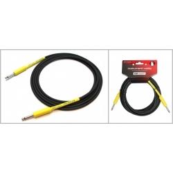 IPCH241 - 6 Metre Enstrüman Kablosu - Siyah/Sarı