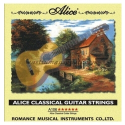 A-106-H6 - Klasik Gitar Teli 6 Numara
