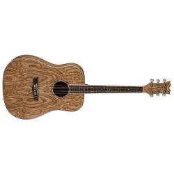 AXDQAGN - AXS Dread Quilt Ash Akustik Gitar - Gloss Natural