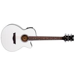 AXPECWH - AXS Performer Elektro Akustik Gitar - Classic White