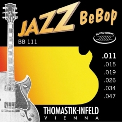 BB111 - 11/47 Jazz Bebop (Extra Light) Elektro Gitar Teli