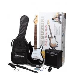 SST1BKPK - Elektro Gitar Seti (Siyah)