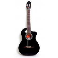 AC965H - Cutaway Klasik Gitar (Siyah)