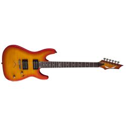 C350FTAB - Custom 350 Elektro Gitar - Trans Amber